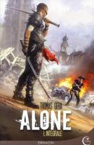Couverture du livre « Alone ; intégrale » de Thomas Geha aux éditions Critic