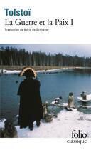Couverture du livre « La guerre et la paix t.1 » de Leon Tolstoi aux éditions Gallimard