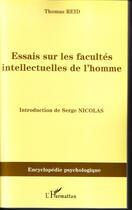 Couverture du livre « Essais sur les facultés intellectuelles de l'homme » de Thomas Reid aux éditions L'harmattan