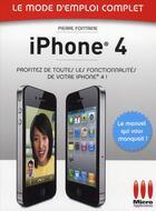 Couverture du livre « IPhone HD » de Pierre Fontaine aux éditions Micro Application