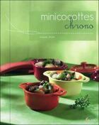 Couverture du livre « Minicocottes chrono » de Isabelle Jelen aux éditions Saep