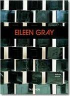 Couverture du livre « Eileen gray » de Philippe Garner aux éditions Taschen