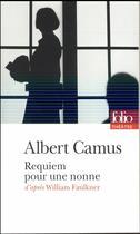 Couverture du livre « Requiem pour une nonne » de Albert Camus aux éditions Gallimard