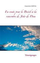 Couverture du livre « En route pour le Brésil à la rencontre de João de Deus » de Genevieve Cheval aux éditions Books On Demand