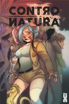Couverture du livre « Contro natura omnibus » de Mirka Andolfo aux éditions Glenat Comics