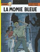 Couverture du livre « Lefranc T.18 ; la momie bleue » de Patrick Weber et Francis Carin et Martin Jacques aux éditions Casterman