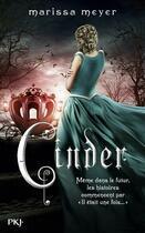 Couverture du livre « Chroniques lunaires t.1 ; Cinder » de Marissa Meyer aux éditions Pocket Jeunesse