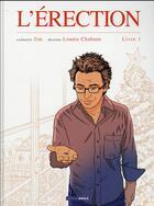Couverture du livre « L'érection T.1 » de Jim et Lounis Chabane aux éditions Bamboo
