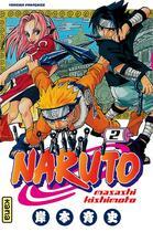Couverture du livre « Naruto T.2 » de Masashi Kishimoto aux éditions Kana