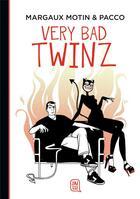 Couverture du livre « Very bad twinz » de Margaux Motin et Pacco aux éditions J'ai Lu