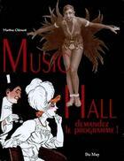Couverture du livre « Music hall ; demandez le programme ! » de Martine Clement aux éditions Du May