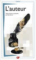 Couverture du livre « L'auteur » de Alain Brunn aux éditions Flammarion