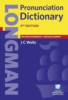 Couverture du livre « Pronunciation dictionary » de J C Wells aux éditions Pearson