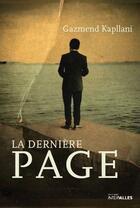 Couverture du livre « La dernière page » de Gazmend Kapllani aux éditions Intervalles