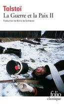 Couverture du livre « La guerre et la paix t.2 » de Leon Tolstoi aux éditions Gallimard