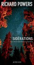 Couverture du livre « Sidérations » de Richard Powers aux éditions Actes Sud