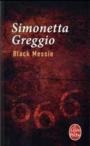 Couverture du livre « Black messie » de Simonetta Greggio aux éditions Lgf