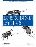 Couverture du livre « DNS and BIND on IPv6 » de Cricket Liu aux éditions O Reilly