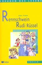 Couverture du livre « Rennschwein rudi russel - livre » de Zehnacker Jean aux éditions Didier