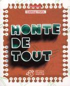 Couverture du livre « Honte de tout » de Carole Fives aux éditions Thierry Magnier