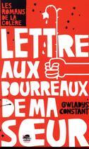 Couverture du livre « Lettre aux bourreaux de ma soeur » de Gwladys Constant aux éditions Oskar