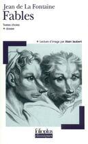 Couverture du livre « Fables » de Alain Jaubert et Jean De La Fontaine aux éditions Gallimard