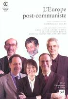 Couverture du livre « Iad - l'europe post-communiste » de Dominique Colas aux éditions Puf