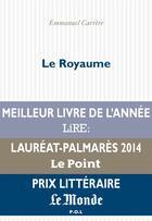 Couverture du livre « Le royaume » de Emmanuel Carrère aux éditions P.o.l