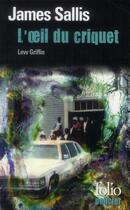 Couverture du livre « L'oeil du criquet » de James Sallis aux éditions Gallimard