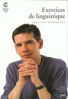 Couverture du livre « Exercices de linguistique » de Monneret P aux éditions Puf