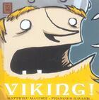 Couverture du livre « Vikings » de Francois Ravard aux éditions Carabas