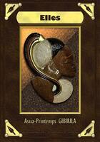 Couverture du livre « Elles » de Assia Gibirila aux éditions Les Plumes D'ocris