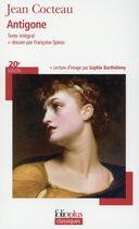 Couverture du livre « Antigone » de Jean Cocteau aux éditions Gallimard