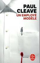 Couverture du livre « Un employé modèle » de Paul Cleave aux éditions Lgf