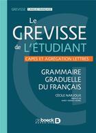 Couverture du livre « Grevisse de l'etudiant (le) » de Maurice Grevisse aux éditions De Boeck Superieur