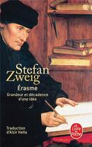 Couverture du livre « Erasme » de Stefan Zweig aux éditions Lgf