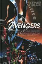 Couverture du livre « Avengers ; la rage d'Ultron » de Rick Remender et Jerome Opena et Pepe Larraz aux éditions Panini
