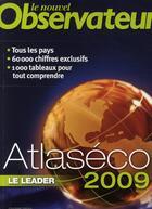 Couverture du livre « Atlaseco 2009 » de Clare B aux éditions Le Nouvel Observateur