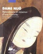 Couverture du livre « Splendeurs et miseres d'une favorite » de Dame Nijo/ aux éditions Picquier