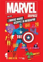 Couverture du livre « Marvel graphics » de Virgile Iscan aux éditions Hachette Pratique