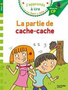 Couverture du livre « J'apprends à lire avec Sami et Julie ; la partie de cache-cache » de Therese Bonte aux éditions Hachette Education