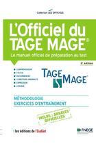 Couverture du livre « L'officiel du Tage Mage (3e édition) » de Eric Cobast et Iman Hedayati Dezfouli et Navid Hedayati-Dezfouli aux éditions L'etudiant