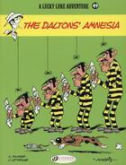 Couverture du livre « Lucky Luke T.49 ; the Daltons' amnesia » de Jean Leturgie et Xavier Fauche et Morris aux éditions Cinebook
