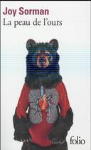 Couverture du livre « La peau de l'ours » de Joy Sorman aux éditions Gallimard