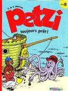 Couverture du livre « Petzi t.26 ; toujours prêt ! » de Hansen aux éditions Casterman