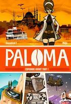 Couverture du livre « Paloma t.1 ; espionne avant tout » de Mojo et Ancestral Z aux éditions Ankama