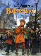Couverture du livre « Les quatre de Baker Street T.2 ; le dossier Raboukine » de Jean-Blaise Djian et Olivier Legrand et David Etien aux éditions Vents D'ouest