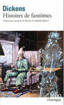 Couverture du livre « Histoires de fantômes » de Charles Dickens aux éditions Gallimard