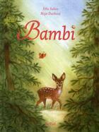 Couverture du livre « Bambi » de Maja Dusikova et Felix Salten aux éditions Nord-sud