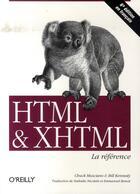 Couverture du livre « Html et xhtml (6e édition) » de Musciano aux éditions O Reilly France